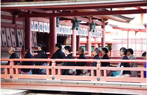 津島神社奉納能